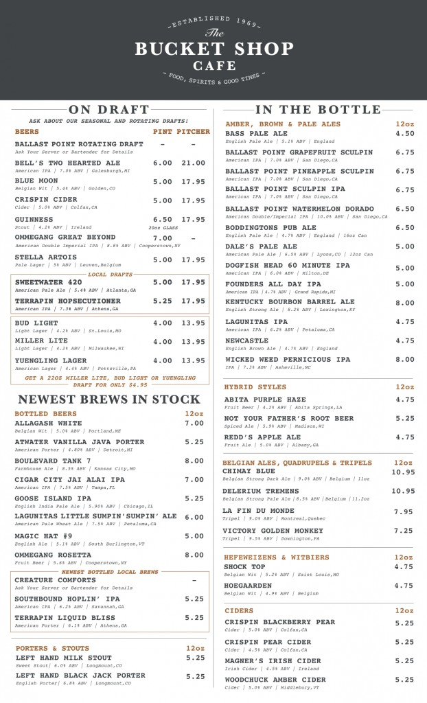 Bucket Shop Cafe--Drinks Menu [Updated 09.06.2016, Print-Ready, Outlined] (dragged)